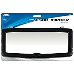 commercial Custom Accessory 7703 Black Deluxe Visor Mirror visor mirror car