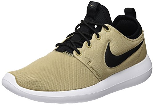 Nike Damen Wmns Roshe Two Trainer, Beige (Khaki/Black/Black/White), 38.5 EU
