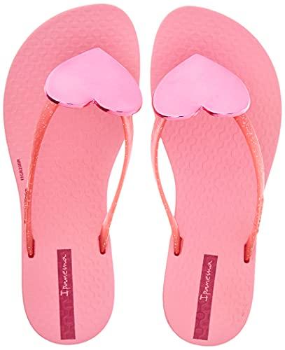 Ipanema Unisex-Kinder Maxi Fashion Kids Flipflop, Pink/Pink Glitter, 31 EU