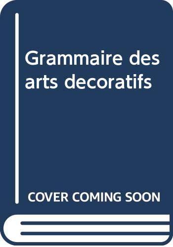 Grammaire des arts décoratifs
