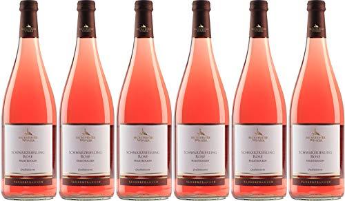 Becksteiner Winzer eG Schwarzriesling Rosé 2019 Halbtrocken (6 x 0.75 l)