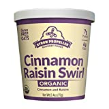 Straw Propeller Gourmet Foods Organic Cinnamon Raisin Swirl Oatmeal - 12 Pack
