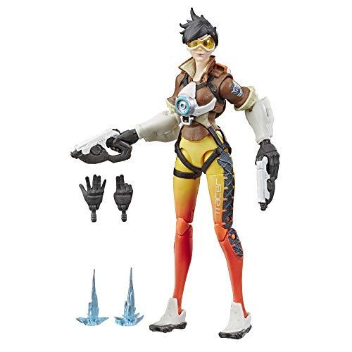 Overwatch Ultimates Series Tracer 15 cm große Action-Figur zum Sammeln mit Accessoires – Blizzard Videospiel Charakter