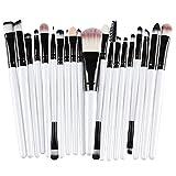 20/5 piezas Pinceles de maquillaje Set Eye Shadow Foundation Powder Eyeliner Eyelash Lip Make Up Brush Cosmetic Beauty Tool KitPinceles, Bh