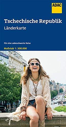 ADAC LänderKarte Tschechische Republik 1:300 000 (ADAC Länderkarten)