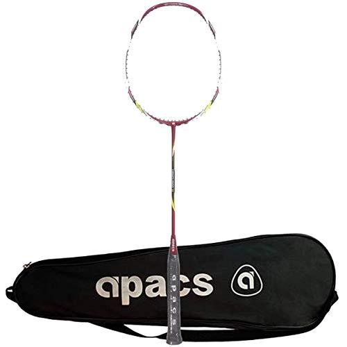 Apacs Vanguard 11 Unstrung Badminton Racquet, Red