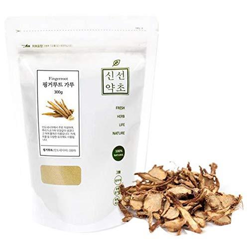 Sinsunherb Finger Root Powder | 300g | 1 Pack, Natural Health & Beauty Resource, Panduratin, 핑거루트