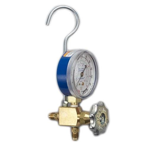 Yellow Boston Mall Jacket 40318 Lo-Side service Manifold Gauge with Hook and