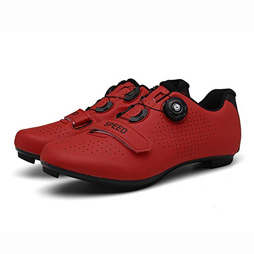 UYBAG Cycling Spinning Shoe with Soft Inner Pad and Lock System 1 Pair Anti-Skid Road Touring Shoes for Mountain Road Biking Best Gift for Family and Friends,41