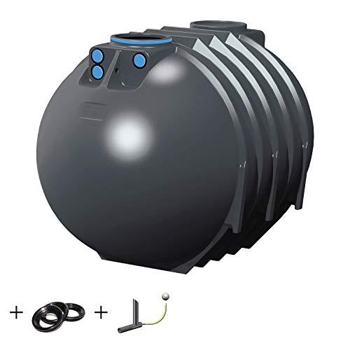 PREMIER TECH AQUA GmbH Regenwassertank Retention Blueline II 10000 Liter inkl. Drossel - Retentionszisterne, Zisterne für Retention