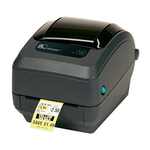 Zebra GK420t - Stampante per etichette termiche, 203 x 203 DPI, 127 mm/s, 8 MB, 4 MB