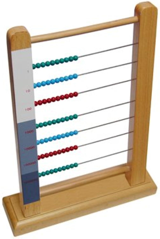 Montessori Large Bead Frame B003NZ4EMY B003NZ4EMY B003NZ4EMY | Wirtschaftlich und praktisch  dc7042