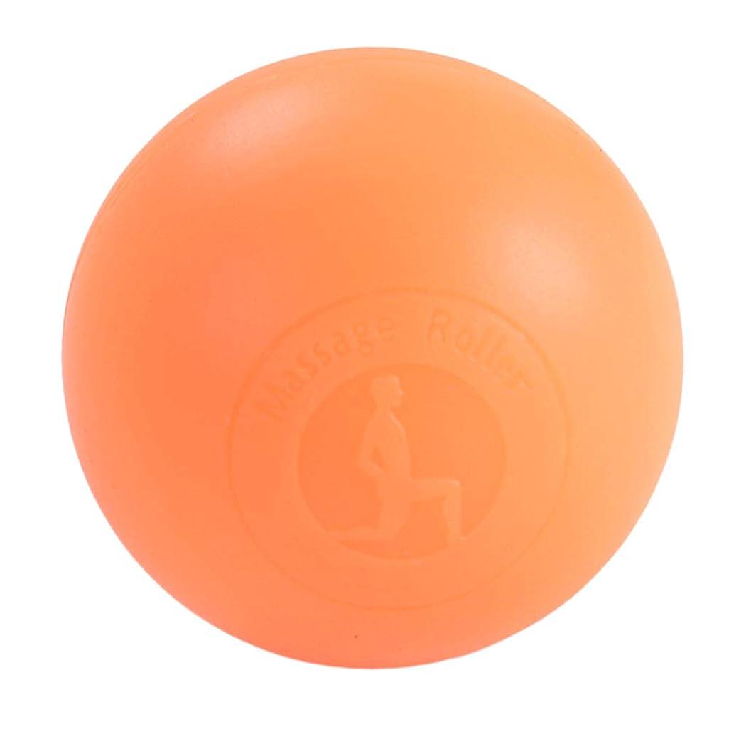 無意識頭兄弟愛Fenteer マッサージボール ボディーマッサージ 2色選べ - オレンジ