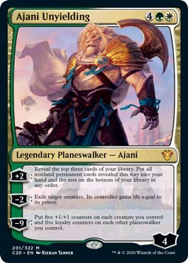 Magic: the Gathering - Ajani Unyielding - Ajani l'Inflessibile - Commander: 2020 Edition