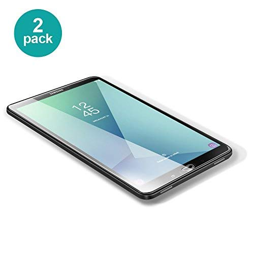 [2 Pack]Samsung Galaxy Tab A 10.1 Screen Protector, POSUGEAR Premium Tempered Glass Ultra Film 0.25mm Compatible with Tab A 2016 (10.1 inch) SM-T580 / SM-T581 / SM-T585