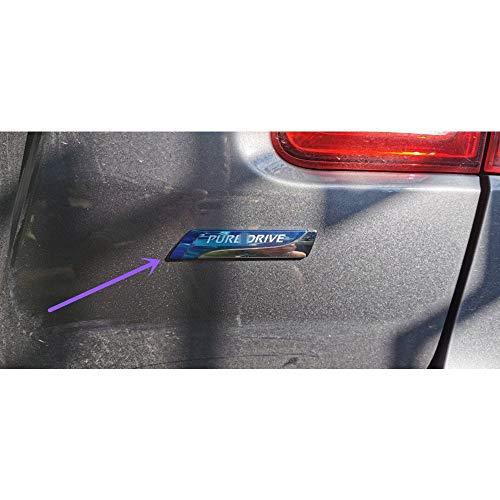 HTSM Kofferraumschutz Für Nissan Qashqai X-Trail Juke Tenna Tiida Sunny Hinweis 1pcs Für Pure Drive XTRONIC CVT 3D-Auto-Emblem-Abzeichen