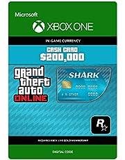 Grand Theft Auto Online - GTA V Tiger Shark Cash Card | 200,000 GTA-Dollars | Xbox One - Codice download