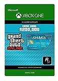 Grand Theft Auto Online - GTA V Tiger Shark Cash Card | 200,000 GTA-Dollars | Xbox One - Código de descarga