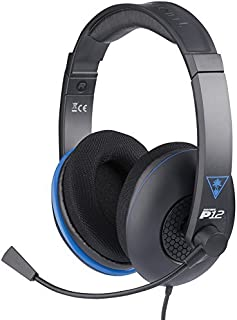Turtle Beach - Auriculares Ear Force P12 Amplificados (PS4, PS Vita)