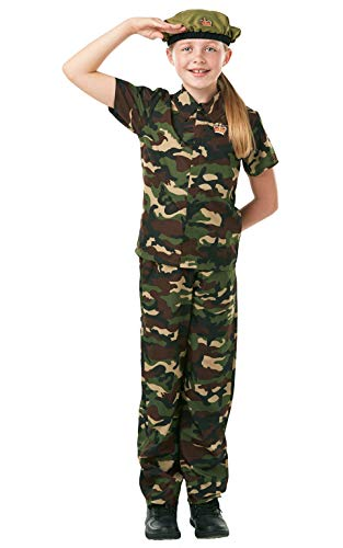 Rubies - Soldier - Childrens Fancy Dress Costume - 140cm - Age 9-10