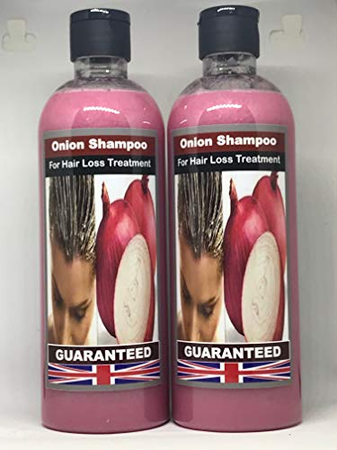 ONION SHAMPOO FOR HAIR LOSS TREATMENT, Onion Shampoo can provide extra sulfur to support strong and thick hair, thus preventing hair loss and promoting hair growth.