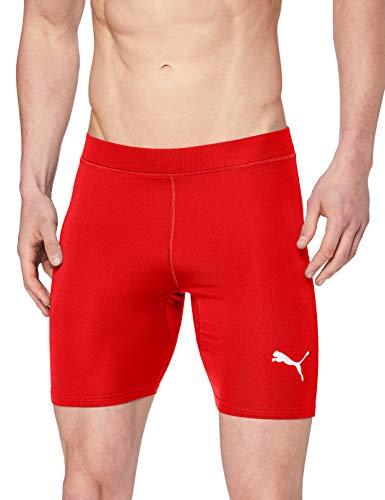 Puma Herren Liga Baselayer Short Tight Hose, Red, M
