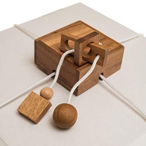 ROMBOL Geschenkesafe – Kreatives Geduldsspiel als Geschenkverpackung für Erwachsene und Kinder, Modell:1 - 2