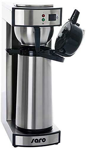 Saro 317-2085 - Cafetera térmica con filtro de cesta y jarra térmica (2,2 L, aprox. 10 tazas de...