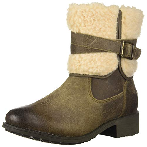 UGG Women's W Blayre Boot III Fashion, Dove, 9.5 M US