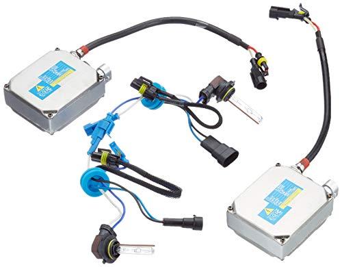 Akhan Digital 9-32V 35W CANBUS Xenon Kit Nachrüstsatz HB3 8000 Kelvin inkl. HID Vorschaltgerät, Xenon Brenner Lampe und Montage Material ohne Fehlermeldung und ohne Flackern