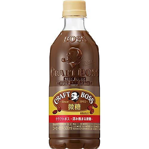 サントリー クラフトボス スペシャルティ 微糖 コーヒー 500ml ×24本