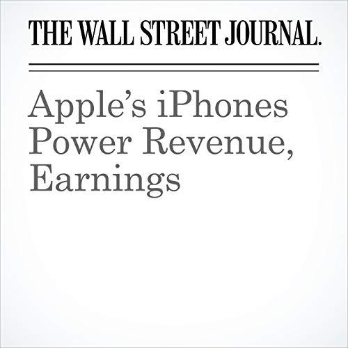 Apple's iPhones Power Revenue, Earnings copertina