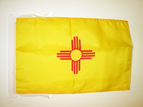 AZ FLAG Flagge New Mexico 45x30cm mit Kordel - Bundesstaat New Mexico Fahne 30 x 45 cm - flaggen Top Qualität