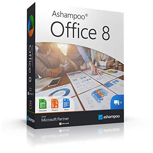 Office 8 ( Für 5 PC ) WIN (Product Keycard ohne Datenträger) -Lebenslange Lizenz