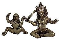 収集品装飾手仕事オールドチベットシルバー彫刻仏像愛の像