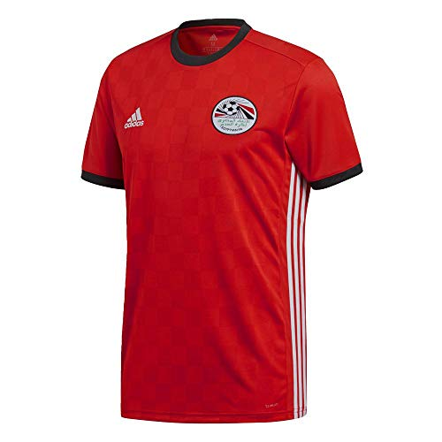 adidas Egypt Home Shirt 2017/19-Medium Adults