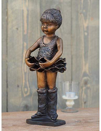 Tuinbeeld - bronzen Beeld - voor binnen en buiten - beeld ballerina - Bronzartes