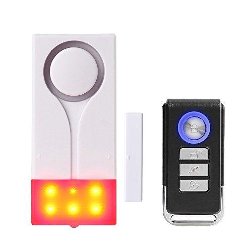 Mengshen磁気センサーアラームワイヤレス光音ドアウェイホームセキュリティM70