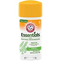 Arm & Hammer Essentials Fresh Rosemary Lavender Deodorant 2.5 Oz With Natural Deodorizers
