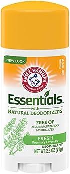 Arm & Hammer Essentials Deodorant With Natural Deodorizers 2.5 Oz