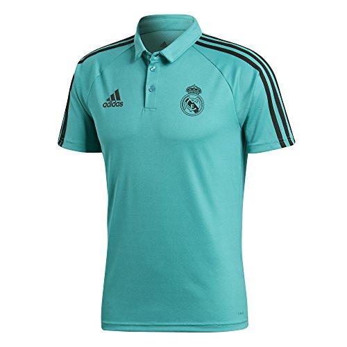 adidas Herren Polokragen mit Knopfleisten Real Madrid Poloshirt, Mehrfarbig (Arraer), M