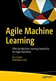 Agile Machine Learning: Effective Machine Learning Inspired by the Agile Manifesto