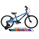 Joey 3.5 Ergonomic Kids Bicycle, For Boys or Girls, Age 3-6, Height 37-47 inches, in Blue