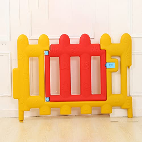 GZHENH Plastic Fencing, Children's Fence, Pet Gate Foldable Easy To Install Stair Protection Net Used For Girl Safety Crawl Toddler, 5 Sizes (Color : A, Size : 105X55CM)