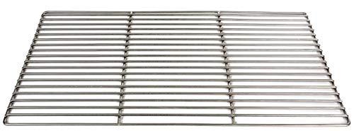 Massiver Grillrost 70 x 40 cm aus Edelstahl 6 mm rostfrei und elektropoliert