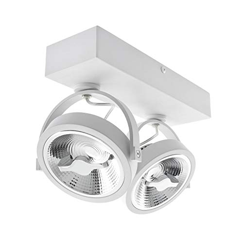 LEDKIA LIGHTING Foco LED CREE de Superficie Direccionable AR111 30W Regulable Blanco Neutro 4000K