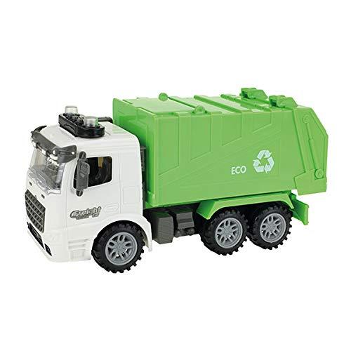 Toi-Toys 23925A - Camión de basura con semáforo, con luz y sonido, para niños