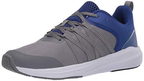 Avia Men's Avi-Split Walking Shoe, Grey/Blue, 11.5