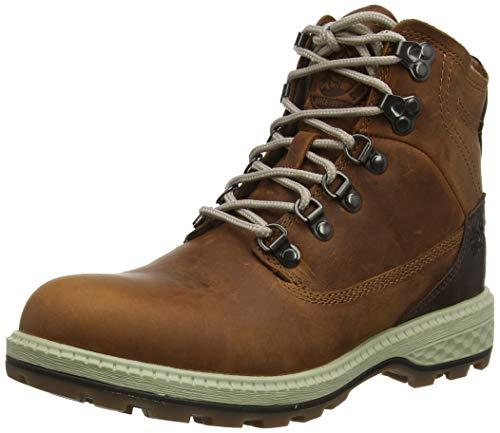 Jack Wolfskin Damen Jack MID W Combat Boots, Braun (Cognac/Mocca 5212), 38 EU