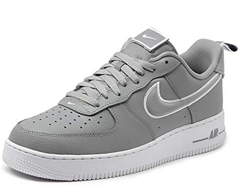 Nike Herren AIR Force 1 Basketballschuh, Particle Grey Particle Grey White, 44 EU